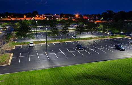 Parking Lot Pole Lighting C N Copeland Electrical Service